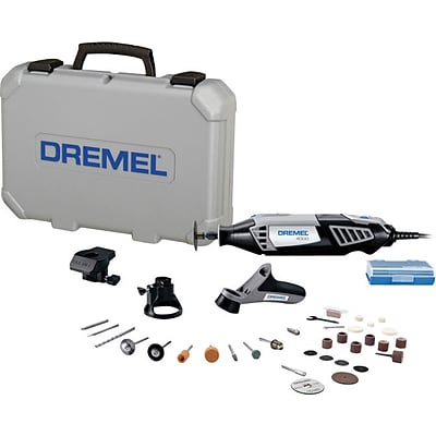 Dremel® 4000 Series Rotary Tools, Includes Case 30 Assorted Accessories Planer