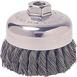0.02-2.75 General-Duty Knot Wire Cup Brush