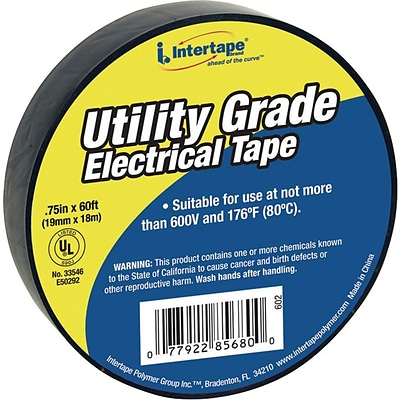 IPG® General Purpose Vinyl Electrical Tapes, 60 ft, Roll, 200/Carton