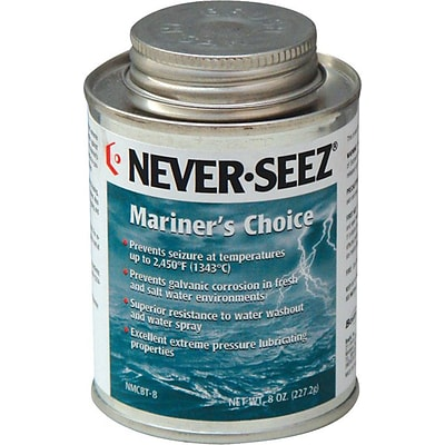 Never Seez® Mariners Choice Anti-Seize; Black-Gray, 16 oz