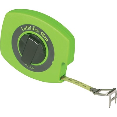 Lufkin® Hi-Viz® Universal Lightweight Measuring Tapes, 100ft Blade