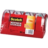 Scotch Clear Moving & Storage Tape/Dispenser