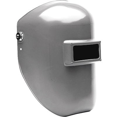 Fibre-Metal Tigerhood® Classic Welding Helmet, #10, Fixed Front, Gray