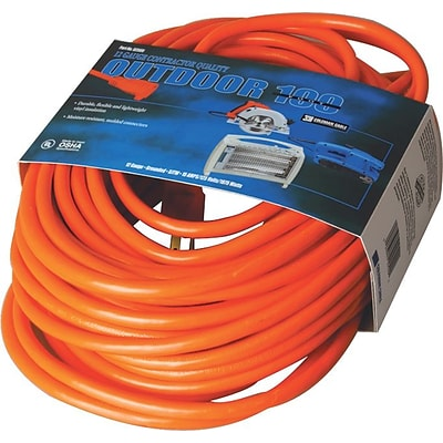 CCI® Vinyl Extension Cord, Orange, 100