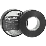 Scotch® Highland™ Vinyl Commercial Grade Electrical Tape, Black, 66