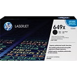 HP 649X Black Toner Cartridge (CE260X); High Yield