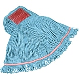 Rubbermaid 640-C153-06-W 5 Cotton/Synthetic Bristle Wet Mop, 6/CT