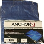 Anchor Brand 6x8 Multiple Use Tarpaulin