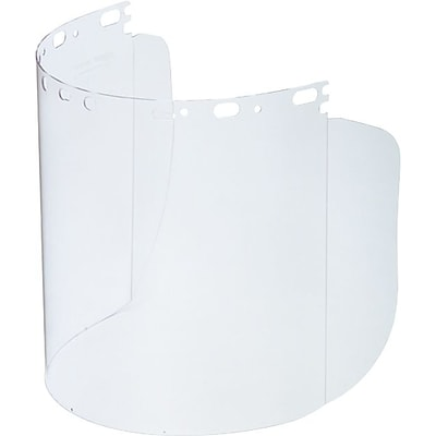 Sperian Eye Protecto-Shield® Replacement T Shield Visor, Clear, 8-1/2X15X.060