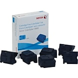 Xerox 108R01014 Cyan Solid Ink Cartridge, Standard Yield, 6/Box