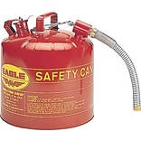 EAGLE Type II Flame Retardant Galvanized Steel Red Safety Can, 5 Gallon