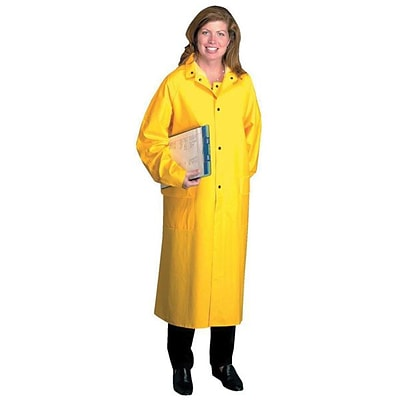 Anchor Brand Raincoat, PVC/Polyester, Yellow, 4X-Large