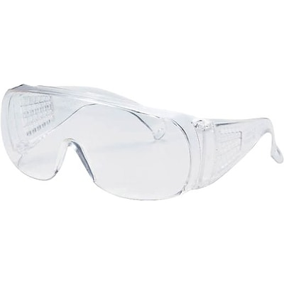 Jackson V10 UNISPEC* II Safety Eyewear; Wrap-Around; Clear Frame Clear Tint