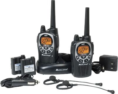 Midland(r) Two Way Radios; GXT1000VP4, Up to 36 Mile Range