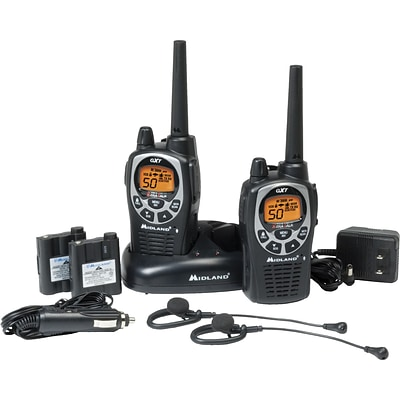 Midland® Two-Way Radios, GXT1000VP4, Up to 36-Mile Range