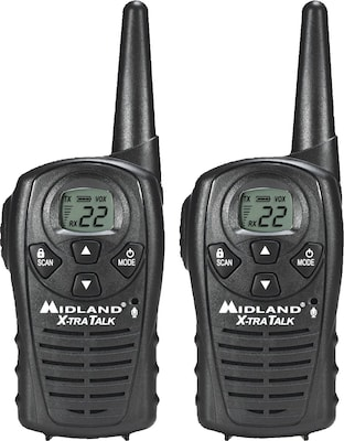 Midland(r) Two Way Radios, LXT118VP, Up to 18 Mile Range