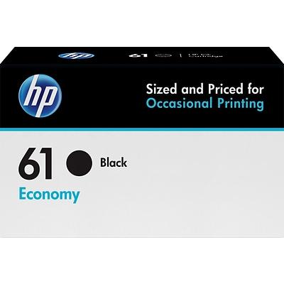 HP 61 Black Ink Cartridge, Economy (B3B07AN)