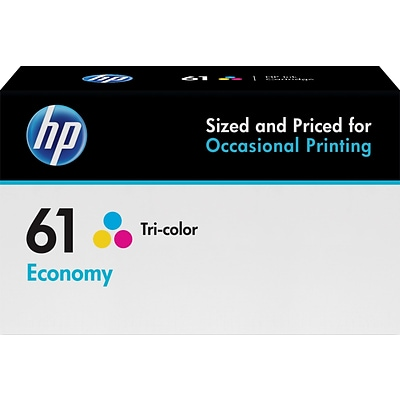 HP 61 Tricolor Economy Ink Cartridge  (B3B08AN)