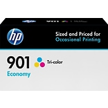 HP 901 Tricolor Economy Ink Cartridge (B3B10AN)