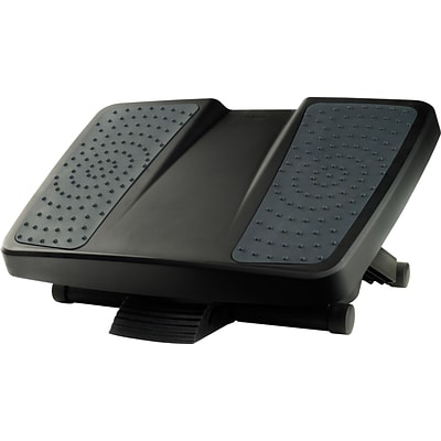 Fellowes Ultimate Footrest, Black/Gray (8067001)