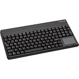 CHERRY® Type A Compact Qwerty Keyboard; Black, 106 Keys, 4 Pin USB