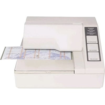 EPSON®TM-U295-272 Dot Matrix Printer; Serial Ecw No Power Supply,White