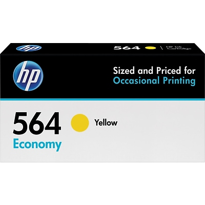 HP 564 Yellow Economy Ink Cartridge (B3B14AN)