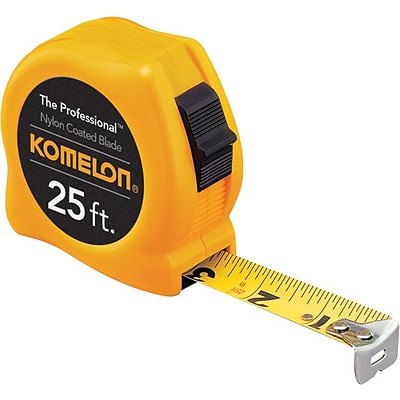 Komelon® Professional Series Power Tapes, 25ft Blade