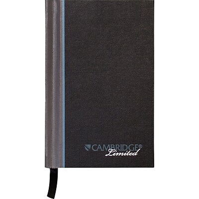 Cambridge® Casebound Notebook, Legal Ruled, 96 Sheets, 3 1/2 x 5 1/4 (59065)