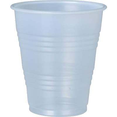 Dart® Conex Galaxy 7 oz. Translucent Polystyrene Plastic Cold Cup, 100/Pack