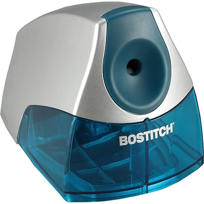 Stanley Bostitch Compact Desktop Pencil Sharpener, Electric, Blue (BOSEPS4BLUE)