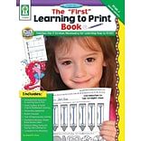 The First Learning to Print Bk