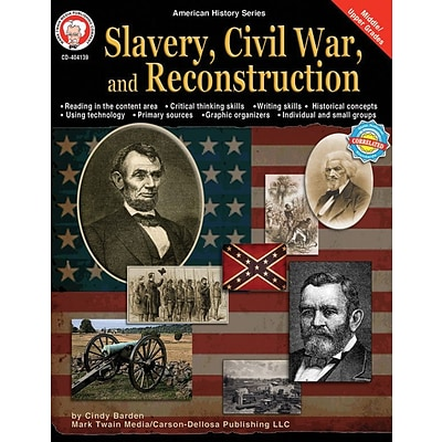 Mark Twain Slavery, Civil War, and Reconstruction Resource Book