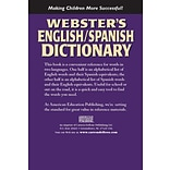 Websters 769615902 English/Spanish Dictionary