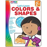 Spectrum Lets Learn Colors & Shapes Workbook