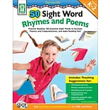 50 Sight Word Rhymes and Poems Resource Bk