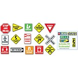 Reading Road Signs Bulletin Board Set