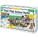 Find That Action Verb! Board Game