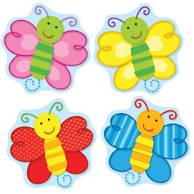 Carson-Dellosa Butterflies Shape Stickers