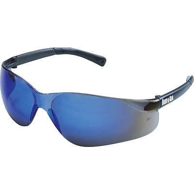 MCR Safety® BearKat® Safety Glasses, Blue-Mirror