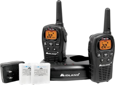Midland(r) Two Way Radios; LXT500VP3, Up to 24 Mile Range