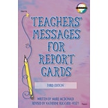 Fearon Teachers Messages for Report Cards Resource Book
