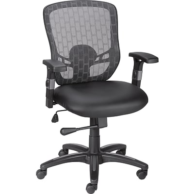 Quill Brand® Corvair Luxura Mesh Back Task Chair, Black