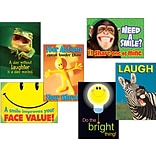 Trend Enterprises Assorted Attitude and Smiles Themed Motivational Prints, 13 3/8 x 19, 6/Pack