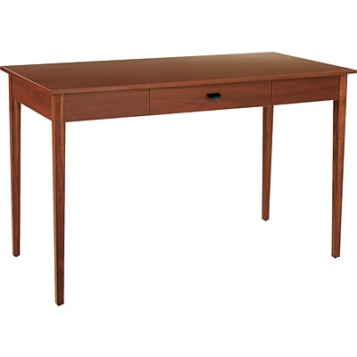 Safco® Apres Laminated Wood Collection in Cherry Finish; 48W Table Desk