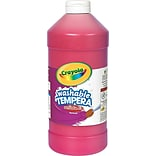 Crayola Washable Tempera Paint 2 lb-Red