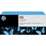 HP 771 Yellow Ink Cartridge (CR253A), 3/Pack