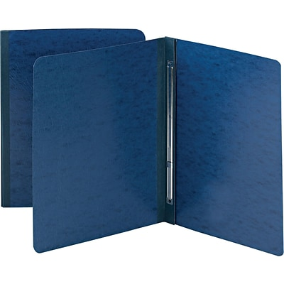 Smead Pressboard Report Cover, Letter Size, 3 Capacity, Dark Blue, 25/Box (81351)