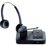 Black/Silver Binaural Wireless Headset