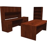 basyx® by HON BL Series Office Suite, Bookcase, & File in Medium Cherry